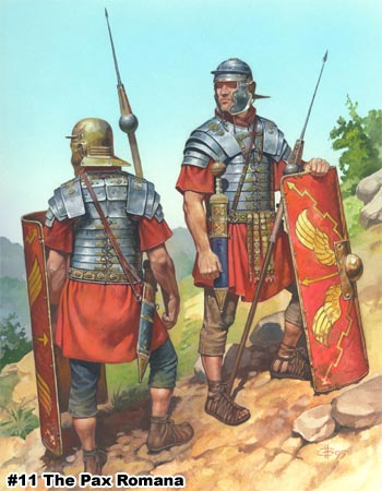 roman legionaries