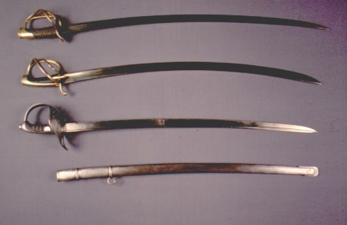 Russian swords and sabres